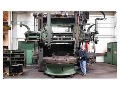 "96"" KING VERTICAL BORING MILL 3 HEAD"