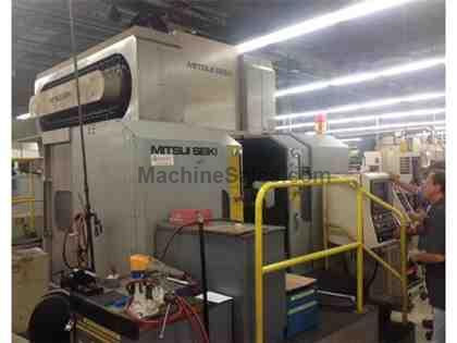 Mitsui Seiki VS5A-DS CNC Dual Spindle Vertical Machining Center