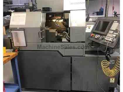 swiss type automatic machine