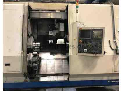 (1) USED DOOSAN TT2500SY CNC TURNING CENTER W/ LIVE TOOLING NEW 2005