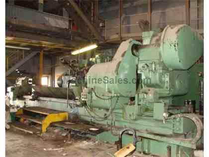 "43"" (1100mm) x 216"" (5500mm), CHURCHILL, No. TWB, 1976, HEAVY DUTY ROLL GRINDER"