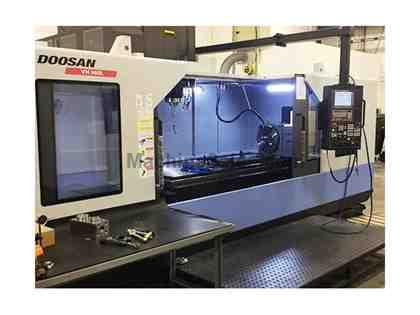 (1) USED DOOSAN VM960L 4-AXIS VERTICAL MACHINING CENTER NEW 2014