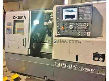 OKUMA CAPTAIN L-370SB/MW, 2006, 4-AXIS CNC, MILLING, SUB SPINDLE