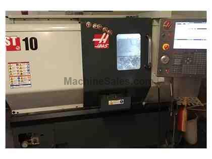 "HAAS, ST-10, 25.25"" SWING, CNC LATHE, NEW: 2015"