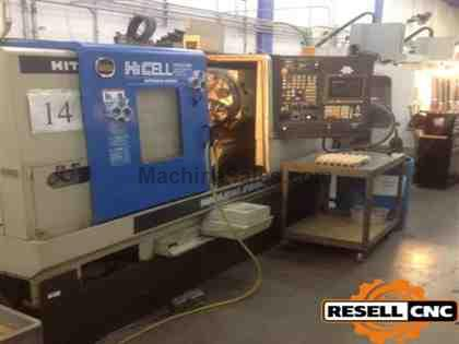 "Hitachi Seiki HiCell 23SII - 2.5"" Bar, 4,000RPM, 10 Tools, 2001"