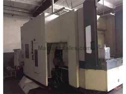 Mori Seiki SH500, 4-Axis, MSC-502 Control, Probe, 40 ATC, Chip Conveyor