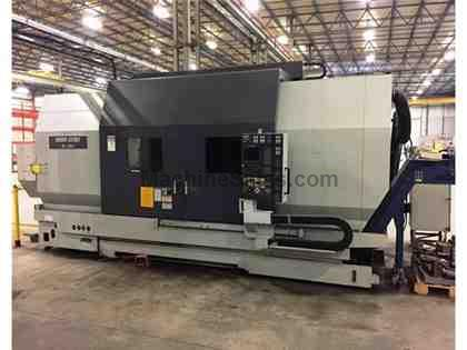 (1) USED MORI SEIKI SL-603C/2000 CNC TURNING CENTER - NEW 2002