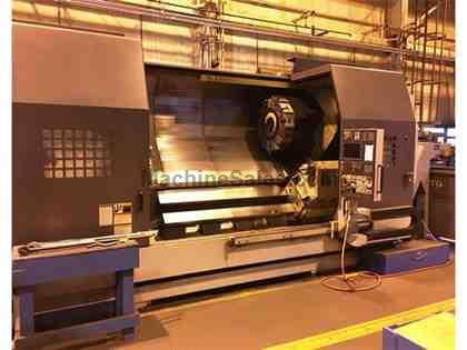 (1) USED MORI SEIKI SL603B/2000 CNC TURNING CENTER NEW 2006