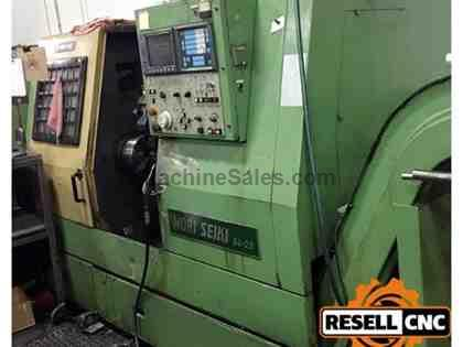 "Mori Seiki SL-25B5 - 2.67"" Bar, 3,500 RPM, 10 Tools, 1987"