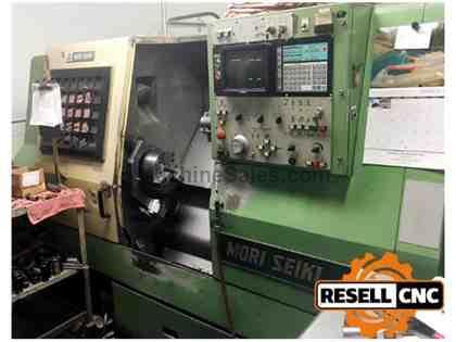 "Mori Seiki SL-25B5 - 2.67"" Bar, 3,500 RPM, 10 Tools, 1985"