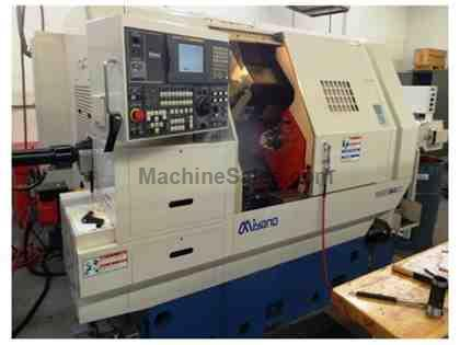 2005 MIYANO BNE-34-S-SY LIVE TOOL, TWIN SPINDLE, TWIN -TURRET C & Y-AXI