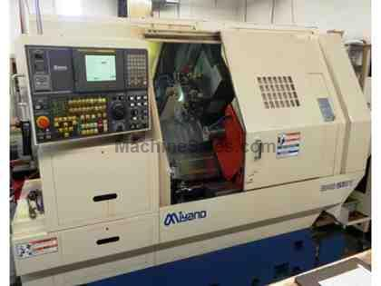 2005 MIYANO BNE-51-S-SY  LIVE TOOLING, TWIN-SPINDLE, TWIN TURRET C & Y-