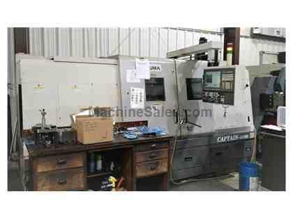 2008 Okuma Captain L470M/1250 Big Bore | CNC | Lathe | #110348