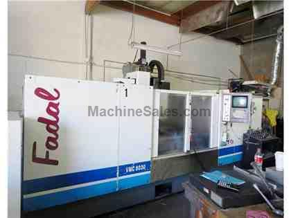 (1) USED FADAL VMC-8030 VERTICAL MACHINING CENTER NEW 1999