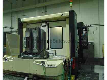 (1) USED MAKINO A99 4-AXIS CNC HMC NEW 1999, INSTALLED 2002