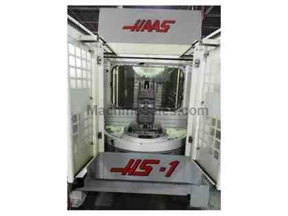 1998 HASS HS-1 CNC HORIZONTAL MACHINING CENTER  FULL B-AXIS *NEW SPINDLE