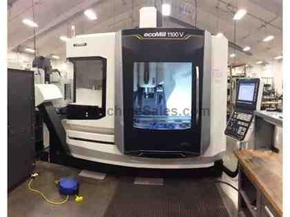 (1) MORI SEIKI ECOMILL V1100 CNC VERTICAL MACHINING CENTER - NEW 2016