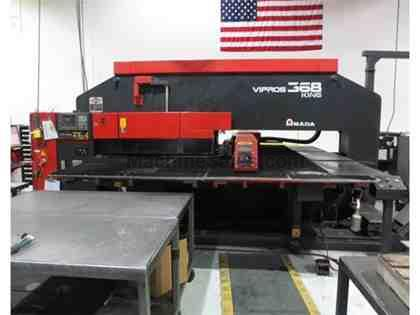 1998 Vipros 368 King II Turret Punch Press