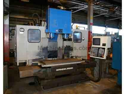 HITACHI-SEIKI VK55 TWIN SPINDLE VERTICAL MACHINING CENTER