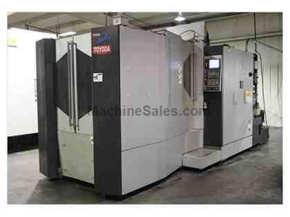 TOYODA FH550R 4-AXIS CNC HORIZONTAL MACHINING CENTER