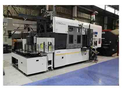 FUJI CSD-400 PARALLEL TWIN SPINDLE CNC LATHE