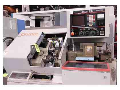 CITIZEN F16 AUTOMATIC SWISS TYPE CNC SCREW MACHINE