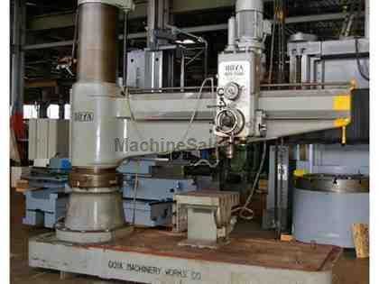 OOYA RE3-2500 RADIAL ARM DRILL