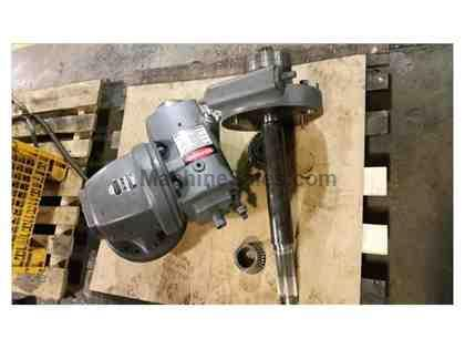 DOUBLE SWIVEL UNIVERSAL VERTICAL MILLING HEAD