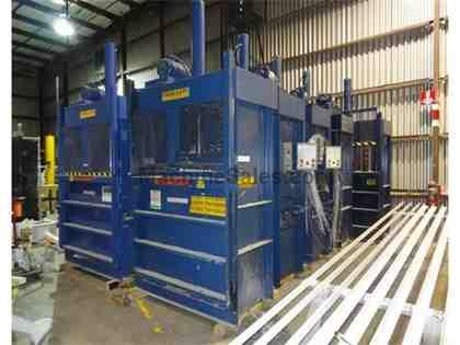 CRAM-A-LOT 60 DB LU VERTICAL BALERS (5 AVAILABLE)