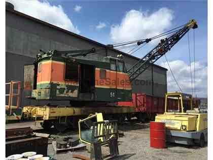 OHIO LOCOMOTIVE DE-300S 40 TON LOCOMOTIVE CRANE