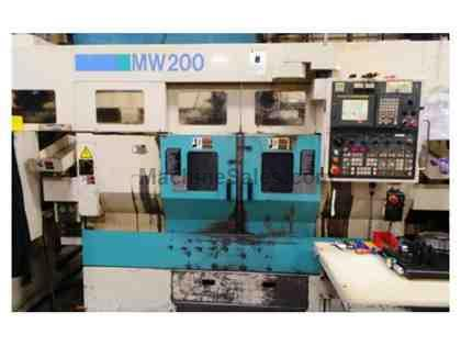 2000 MW-200G MURATA TWIN SPINDLE CNC TURNING MACHINES WITH GANTRY LOADER
