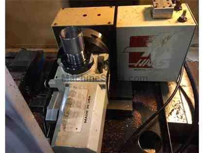 Haas T5C Tilting 5C Collet 2-Axis Rotary Table