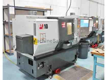"HAAS ST-10, 6"" CHUCK, 2014, 800 HOURS OF USE, PARTS CATCHER, CHIP CONV"