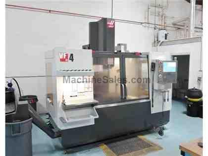 HAAS VF-4, 2011, 10K RPM, WIPS, HRT160 ROTARY TABLE