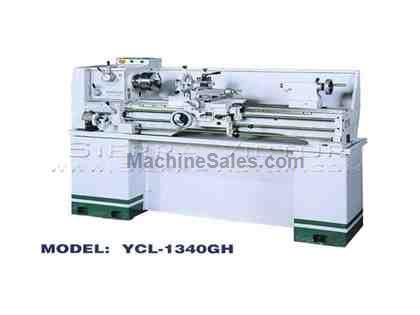 BIRMINGHAM® Geared Head Bench Lathe with Floor Stand YCL-1340GH