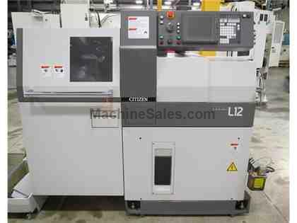 2014 CITIZEN L12 TYPE VII 7-AXIS SLIDING HEADSTOCK TYPE AUTOMATIC CNC LATHE