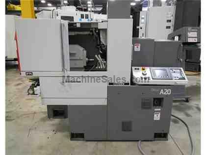 2012 CITIZEN A20 TYPE VII 5-AXIS SLIDING HEADSTOCK TYPE AUTOMATIC CNC LATHE
