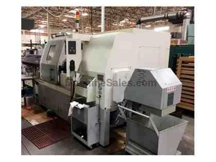 2013 Ganesh KSL-7612TMY CNC Turning Center with Live Tooling & Y-Axis
