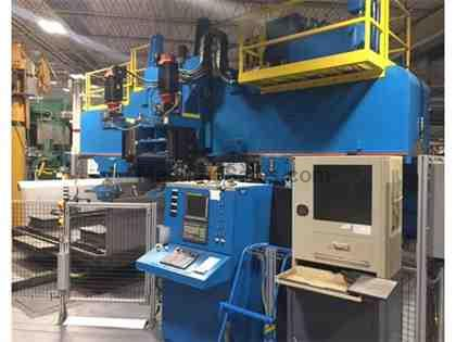 Wilson 4 Spindle Bridge Type CNC Profile Mill, Fanuc 31iA5 CNC, 4 Spindles