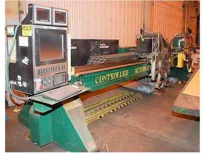 Controlled Automation Multimax CNC Plasma Cutting System