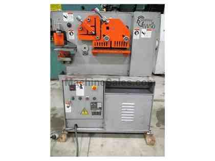 SPARTAN IW-50 HEAVY DUTY INTEGRATED IRONWORKER, 50 TON