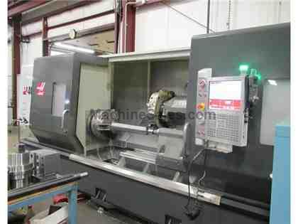 "2012 HAAS ST-40L BIG BORE, LONG BED CNC LATHE WITH TAILSTOCK, 18"" CHUC"