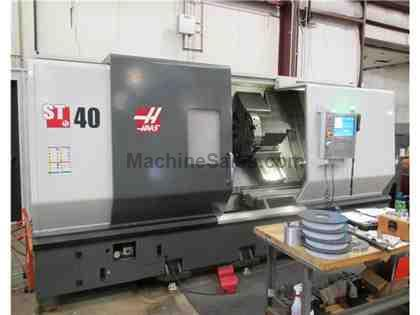 2013 HAAS MODEL ST-40 CNC LATHE WITH TAILSTOCK & HAAS CONTROL, 15""