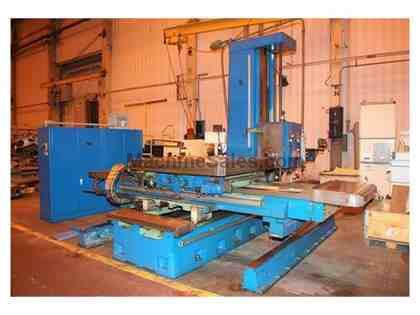 "5.12"" Wotan Table Type Horizontal Boring Mill"