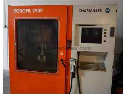 Charmilles Robofil 290P wire EDM, New in 2001