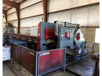 VOORTMAN MODEL V550-4 FLAT AND ANGLE PUNCHING SHEARING MACHINE