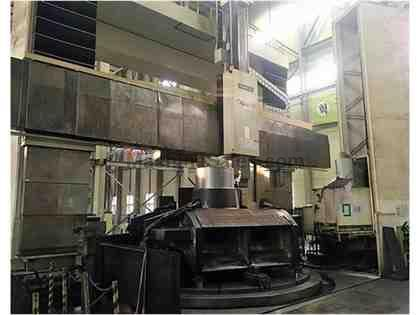 "196"" Hankook VTC-5060E CNC Vertical Boring Mill w/Milling"