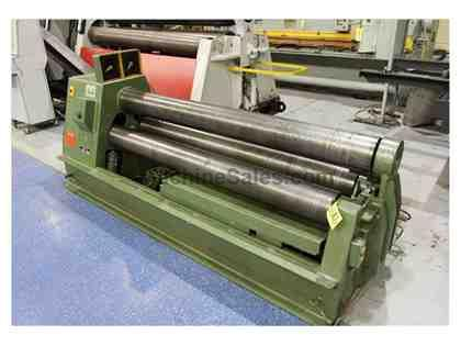 ROUNDO PS205 DOUBLE PINCH TYPE PLATE BENDING ROLL