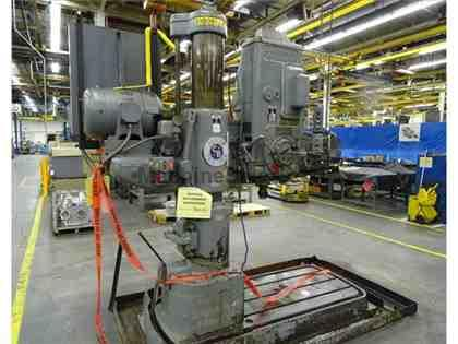 CINCINNATI BICKFORD 2E RADIAL ARM DRILL