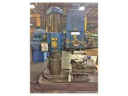 "4"" x 13"" Giddings & Lewis Radial Arm Drill"